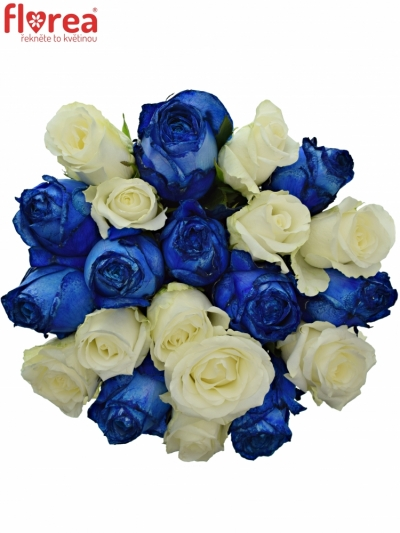 Kytice 21 míchaných růží MARELLA
