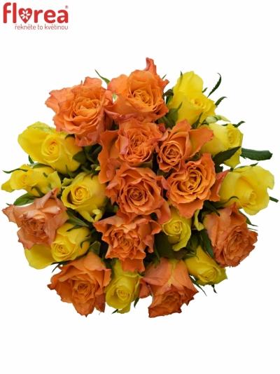Kytice 21 míchaných růží MARYWALK 50cm