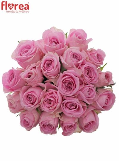 Kytice 21 růžových růží HEIDI!