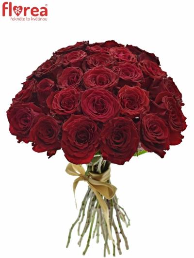 Kytice 25 červených růží ABBA