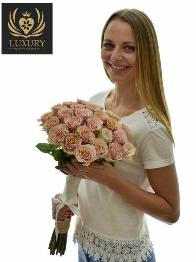 Kytice 25 luxusních růží MABELLA 60cm