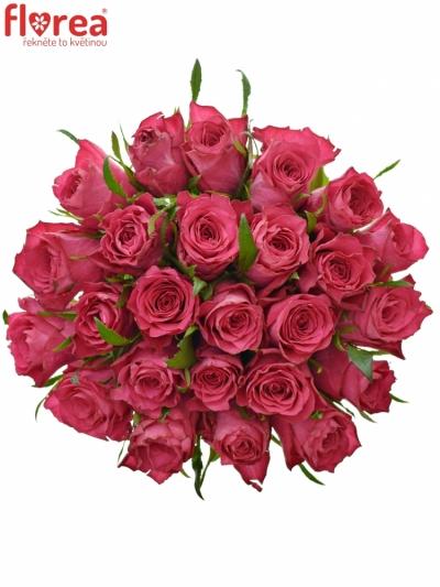 Kytice 25 růžových růží CANDIDATE!