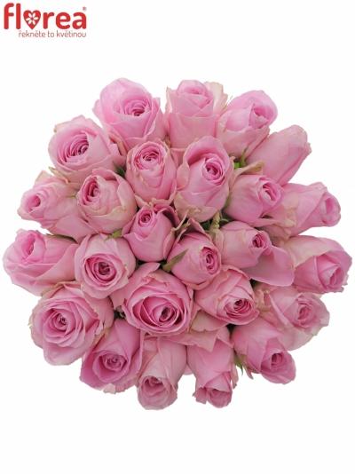 Kytice 25 růžových růží HEIDI!