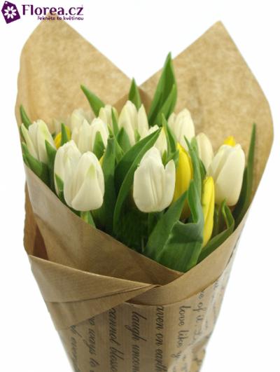 Kytice 25 tulipánů JAISON 35cm-papír