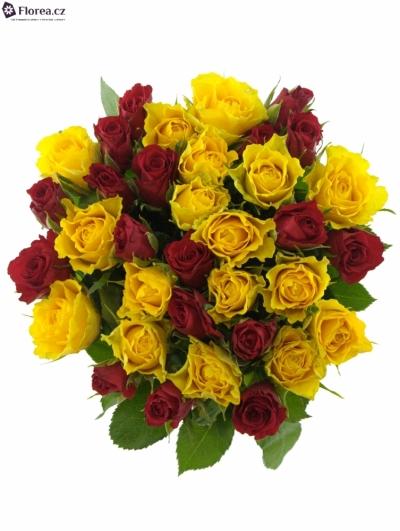 Kytice 35 míchaných růží ANATOLA 50cm