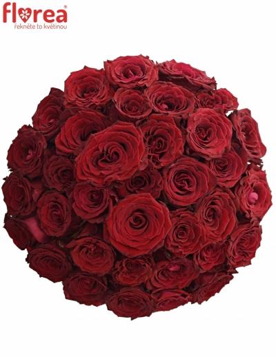 Kytice 35 červených růží ABBA
