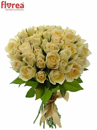 Kytice 35 meruňkových růží ANGELA 35cm