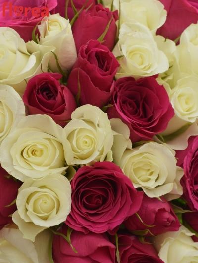Kytice 35 míchaných růží CRONUS