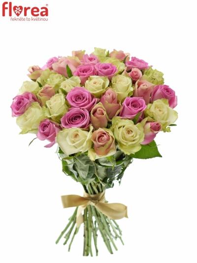 Kytice 35 míchaných růží FIOLA