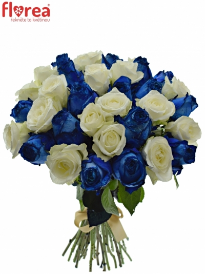 Kytice 35 míchaných růží MARELLA