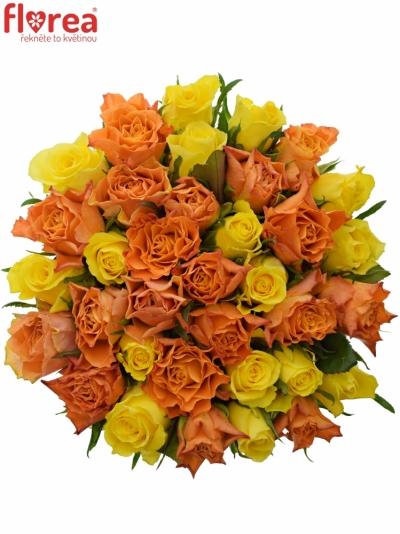 Kytice 35 míchaných růží MARYWALK 50cm