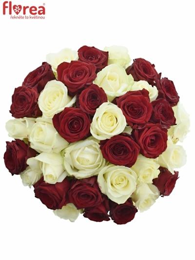 Kytice 35 míchaných růží THINA