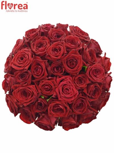 Kytice 35 rudých růží RED NAOMI! 30cm