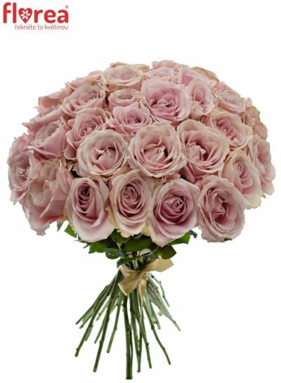 Kytice 35 růžových růží AVALANCHE PINK+ 60cm