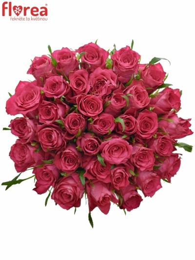 Kytice 35 růžových růží CANDIDATE!