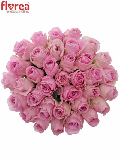 Kytice 35 růžových růží HEIDI!