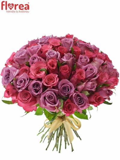 Kytice 55 míchaných růží BENAYA