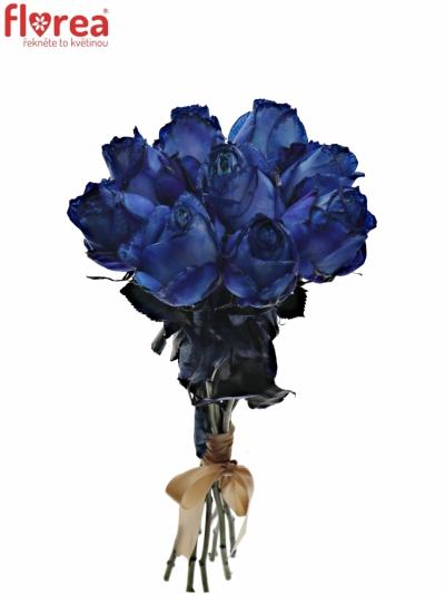 Kytice 9 modrých růží BLUE QUEEN OF AFRICA