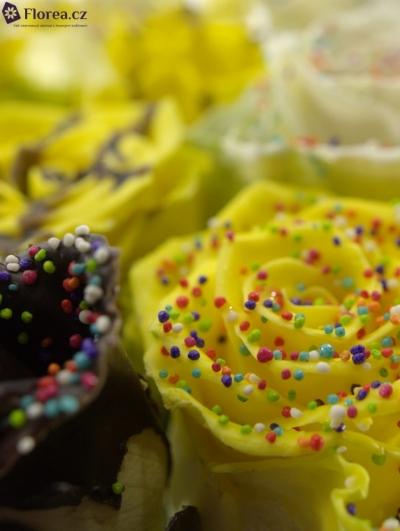 ROSA CHOCOLAT EASTER MIX 70cm