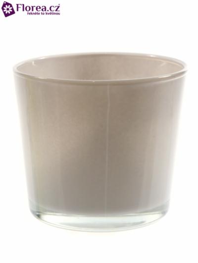 Skleněná miska NASHVILLE d12cm-béžová