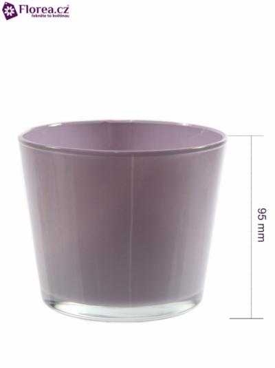 Skleněná miska NASHVILLE d12cm-lila