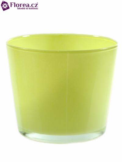 Skleněná miska NASHVILLE d12cm-žlutá