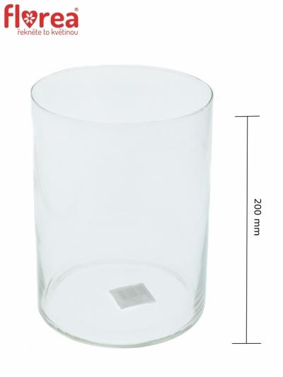 Skleněná váza 470852600 d15cm v20cm