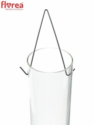 Skleněná váza 480513900 Capellyn d6cm v80cm