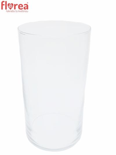 Skleněná váza 88501500 d15cm v29cm