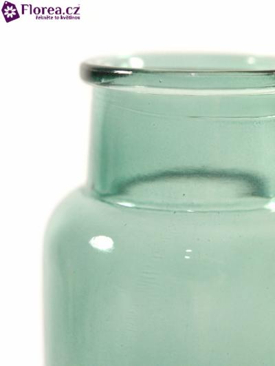 Skleněná váza BRANDI v12cm-modrá